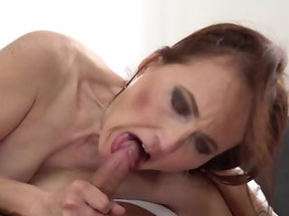 Matures Sandy-haired Likes Teenager Lollipop In Her Mouth And Cunt