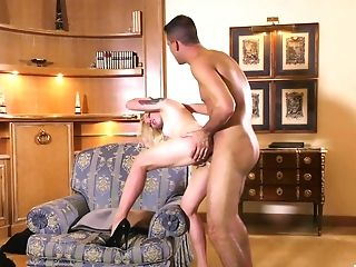 Blonde Matures Porn Industry Star Lola Taylor Butt-banged Rear End Style