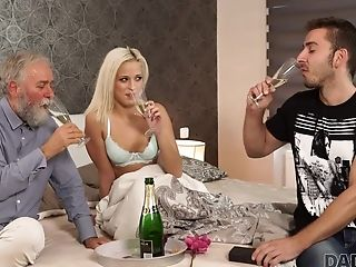 Beautiful Blonde Embarks Morning Fuck-fest With Gorgeous Mentor