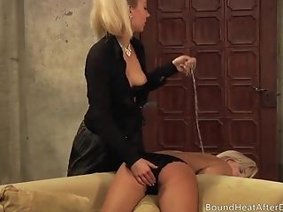 The Servant Strapon In Dungeon Space Or Pleasure With Mistress