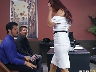 Monique Alexander Gets Her Coochie Packed With Hard And Strong Boner