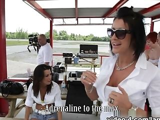 Crazy Pornographic Stars Kelly Summer, Shana Lane In Horny Group Lovemaking, Cum Shots Hook-up Movie