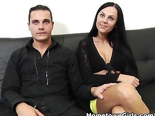 Crazy Sex Industry Star Brenda Black In Best Dark Haired, Hard-core Pornography Clip