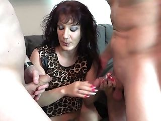 Two Beautiful Dudes Likes Fucking Abilities Of Never-to-be-forgotten Lady Samy Saint