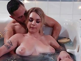 Mummy With Large Natural Breasts, Crazy Hard Fuck-fest With Her Man