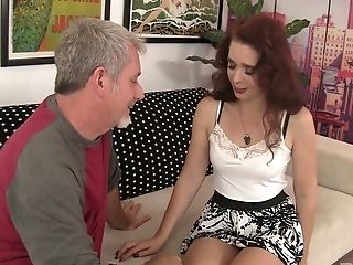 Crimson Haired Cougar Sable Renae Goes Wild On Hard Lengthy Rod