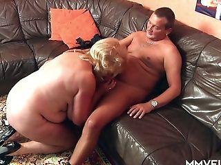 Mega Buxomy Old Hooker Frosya Goes Wild On A Hard Dick