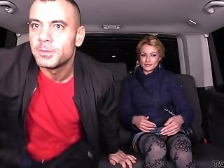 Mummy Cherry Gets A Hard-core Fuck In A Car While Wearing Stockings