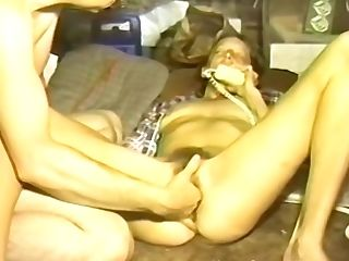 Nasty Old Vid Of An Fledgling Wifey Getting Her Hairy Muff Pleased