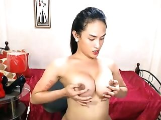 Two Sexy Hot Shemale Masturbating Together On This Supah Hot Shemale Flick Live