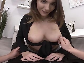 Vanessa Decker Gives The Best Tit Job Before Amazing Lovemaking With Her Friend