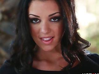 Beautiful Dark-haired Vagina Fumbling __  __  __
