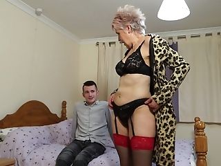 Brief Haired Matures Granny Lady Sextasy Gives An Amazing Fellatio