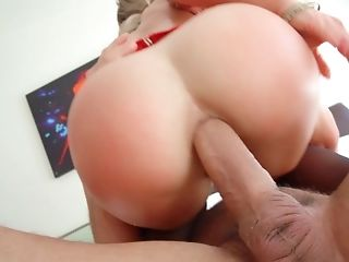 Cherie Deville Rails A Big Hard Pink Cigar With Her Taut Asshole