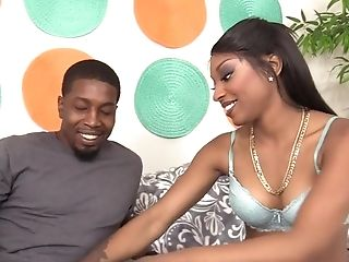 Black Honey Mouth And Cunt Intruded By Big Black Cock
