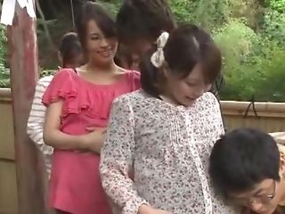 Incredible Japanese Super-bitch Kyouko Maki, Hinata Komine In Exotic Public Jav Movie
